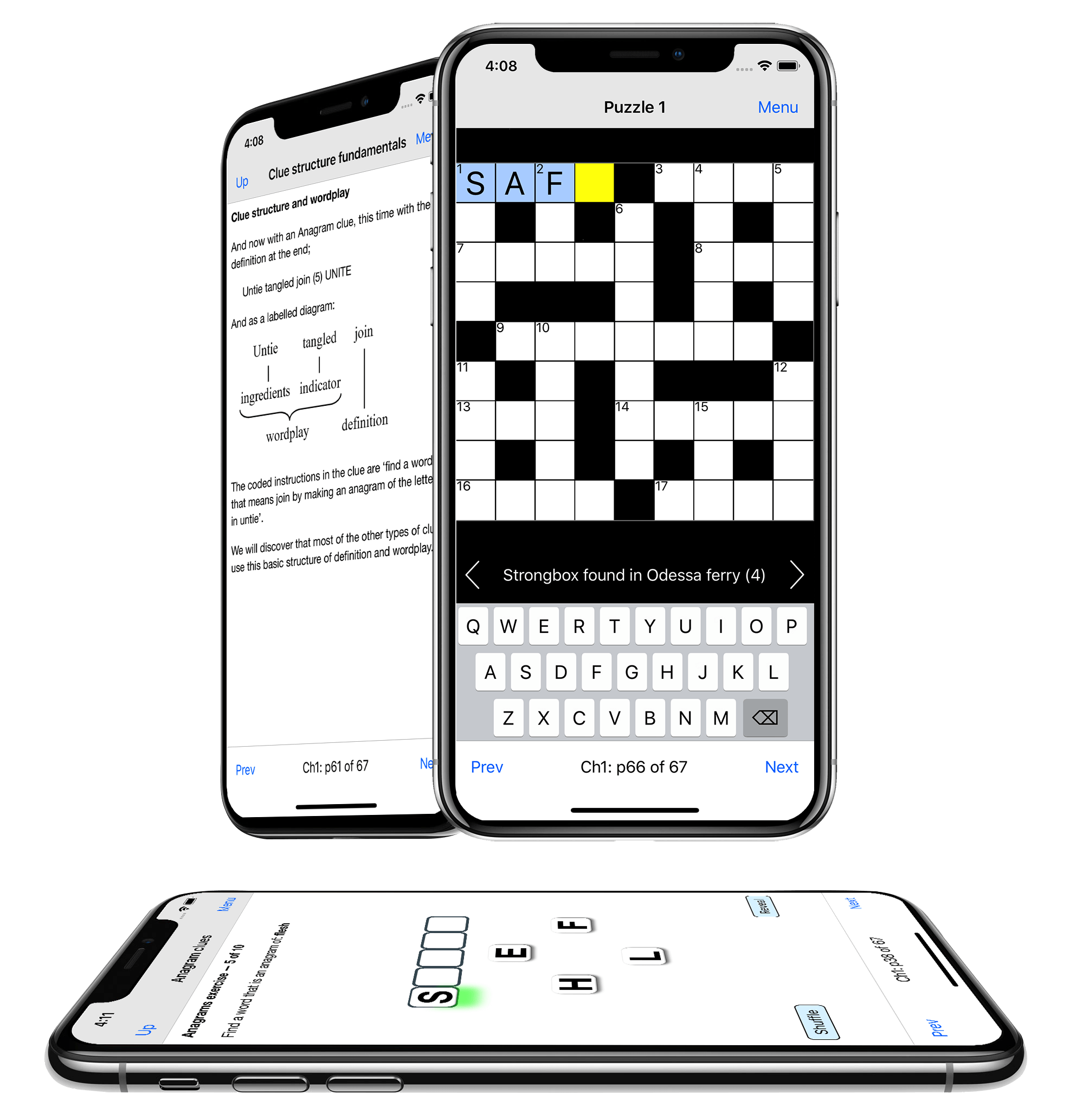 Cryptic Crosswords app